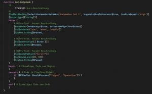 PowerShell Cmdlet erstellen