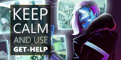 PowerShell Keep calm and use Get Help