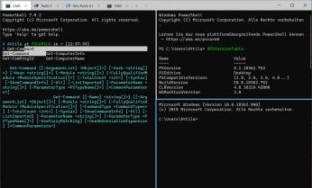 WindowsTerminal Beispiel 2